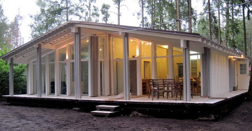 Шведские деревянные дома: